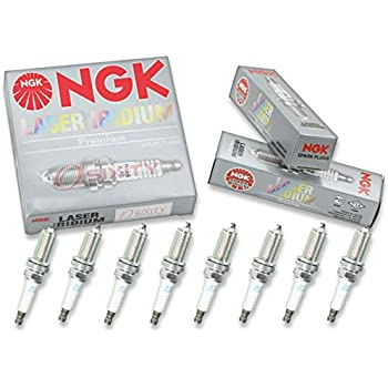 NGK Laser Iridium 8pcs Spark Plugs Toyota Tundra 07-14 5.7L 4.6L V8 Kit Set
