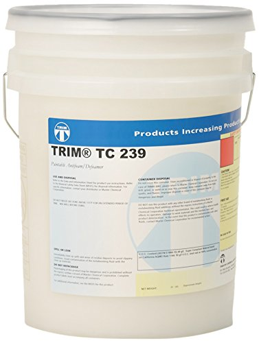 TRIM Cutting & Grinding Fluids TC239/5 Paintable Antifoam/Defoamer, 5 gal Pail by TRIM