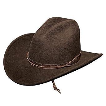 17d14503759d0 Amazon.com  Stetson Cross Creek Felt Western Hat TWCSCK-503423 USA ...