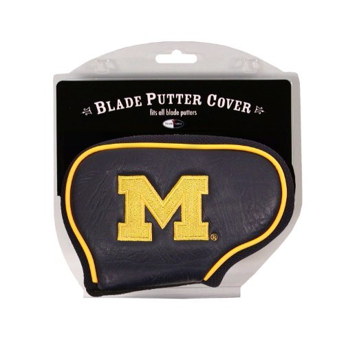 gan Wolverines Golf Club Blade Putter Headcover, Fits Most Blade Putters, Scotty Cameron, Taylormade, Odyssey, Titleist, Ping, Callaway ()