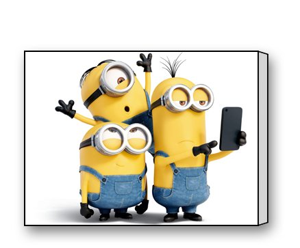 Minions Canvas Prints for Modern Wall Art for Home Decoration