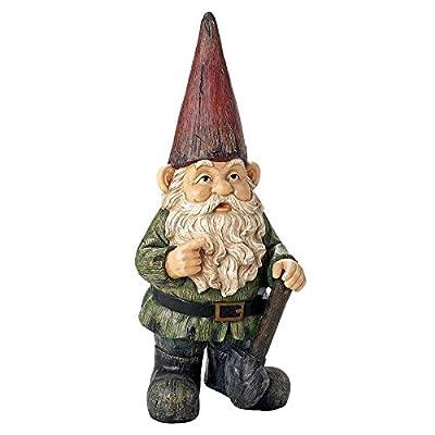 Design Toscano AL50726 Gottfried The Gigantic Gnome Outdoor Garden Statue, Full Color : Garden & Outdoor