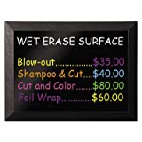 Kamashi Wet-Erase Board, 36 x 24, Black Frame, Sold as 1 Each