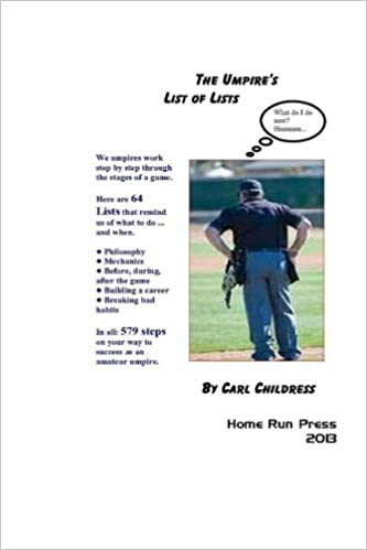 Book The Umpire's List of Lists