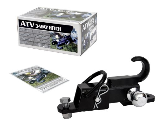 Komodo ATV ATV3WH22 ATV 3-Way Receiver Hitch with 2