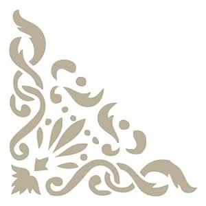 Stencil Cenefa Mini 021. Medidas aproximadas:Tamaño del stencil 12 x 12(cm) Tamaño figura 7 x 7(cm)