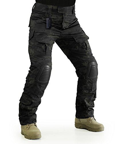 multicam pants knee pads - 5