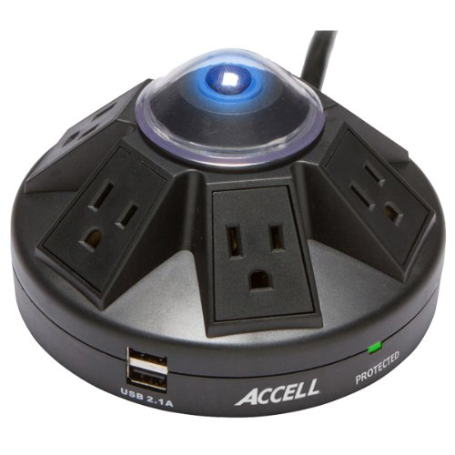 accell-powramid-6-outlet-surge-protector-with-2x-usb-charging-ports-ul-listed-21a-usb-output-6ft-cor
