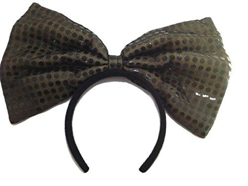 Sequin Bow Headband :H1