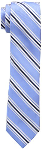Wembley Big Boys Wembley Boys Stripe Tie, Blue, OS