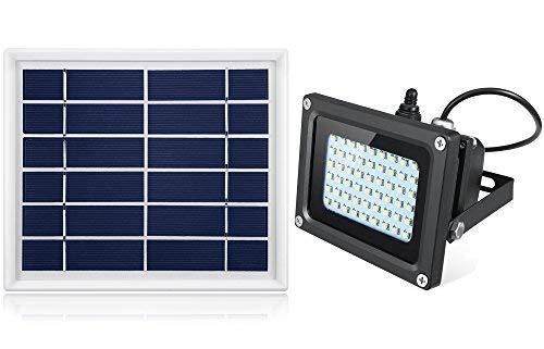 Oasity Solar LED Light – 500 Lumens – IP65 Waterproofness Rating – Perfect Solar Spotlight For Patio, Gazebo, Or Backyard [並行輸入品] B07R9T41MX