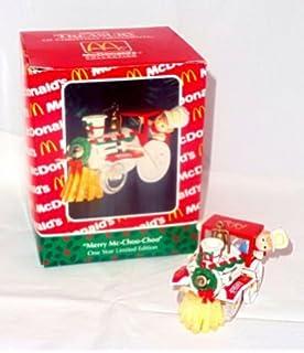 Mcdonalds Christmas Ornament.Amazon Com Mcdonalds Holiday Orders Ornament Home Kitchen