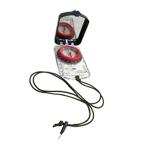 Alpine Mountain Gear 4011828 Map Compass with Adjustable Declination