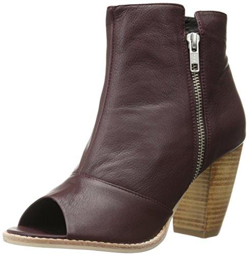 Sol Sana Women's Raider Boot, Wine Leather, 7 M US