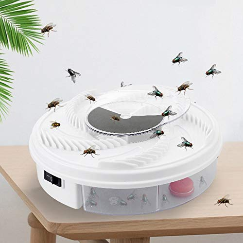 100% Effective Electric Fly Trap Device Insect Catcher Fly Trap Device Pest Control Products Household Mosquitoes Killers   USB Cable