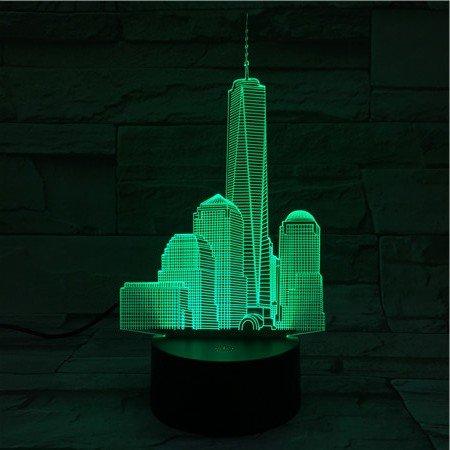 Noche Center Luz Led World Trade Usb 3D Veilleuse De La xEQBrdoeCW