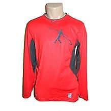 Nike Pro Combat Elite Compression Baseball Shirt Red