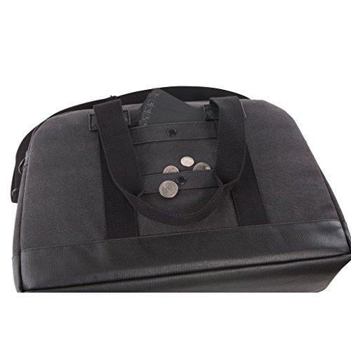 HEX - Laptop Reisetasche - Laptop Duffle - mit 15 Laptopfach - 14 Liter - anthrazit Idwaqgx
