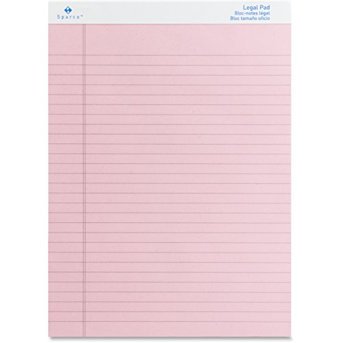 (SPR01076 - Sparco Pink Legal Ruled Pad)