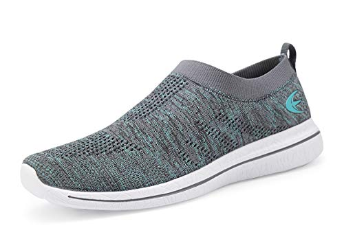 Shoes Grey Street Mesh Loafer Aqua Sneakers On Walking Women's Casual Beach Slip zwqv60A