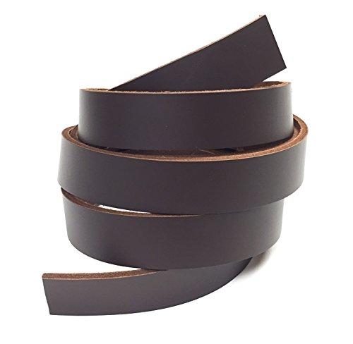 rk Brown Latigo Leather Strip 1