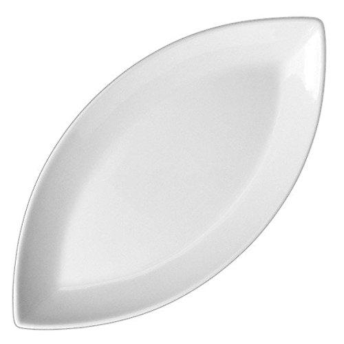 Holst Porzellan BAT 005 Platte oval Schiffchenform