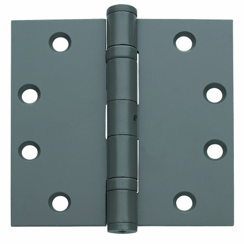 Global Door Controls 4.5 in. x 4.5 in. US Prime Ball Bearing Non-Removable Pin Steel Hinge - Set of 3