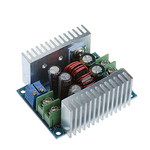 Anmbest Constant Current CC CV Buck Converter Module DC 6-40V to 1.2-36V 20A 300W Adjustable Step Down Voltage Regulator Power Supply Module with Short Circuit Protection Function (Function Of Voltage Regulator In Power Supply)