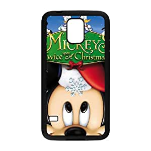 Mickey's Twice Upon a Christmas Samsung Galaxy S5 Cell Phone Case Black JU0055725