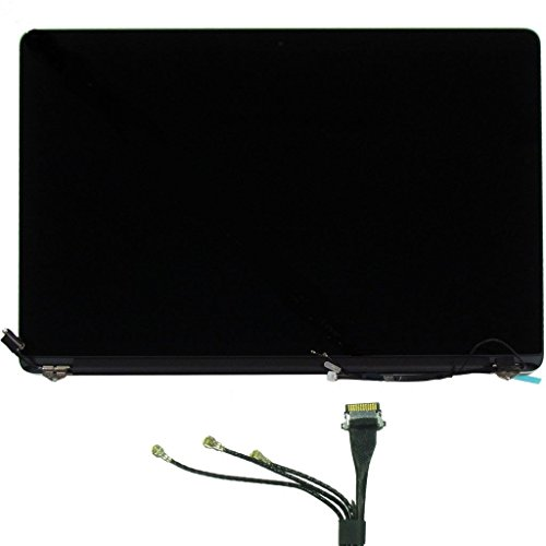 Apple MacBook Pro 15'' A1398 Late 2013/Mid 2014 Retina Display Full LCD LED Display Screen Assembly Repair Part 661-8310 by Apple