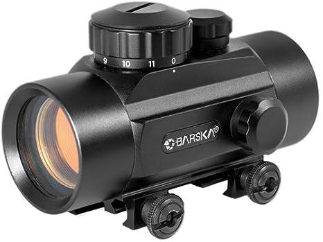 Amazon.com : BARSKA Red Dot 30mm Riflescope : Rifle Scopes : Sports