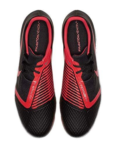 Academy bright 060 Negro Fútbol Zapatillas black Venom Para Crimson Hombre De Nike Phantom Fg RwEFBq