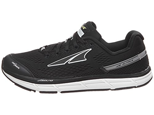 Altra Women's Intuition 4 Running Shoe, Black, 7.5 M US
