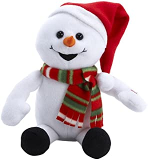 Winter Wonder Talking Snowman Toy Mimic Repeats What You Say Animated New