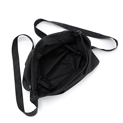 Schultasche Rucksack, Kingwo Frauen Mädchen Tunnelzug Sport Schuh Tanz Tasche Schultasche Rucksack