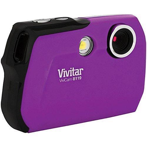 Vivitar Vivicam 8.1 Megapixel Digital Camera, Purple