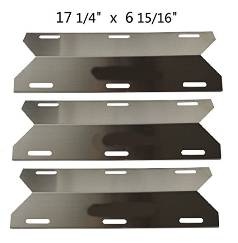 - BBQ Energy Stainless Steel Replacement Heat Plate BBQ Gas Grill Heat Shield 91241 (3-pack) for Charmglow, Costco Kirkland, Nexgrill, Sterling Forge, Lowes Model Grills