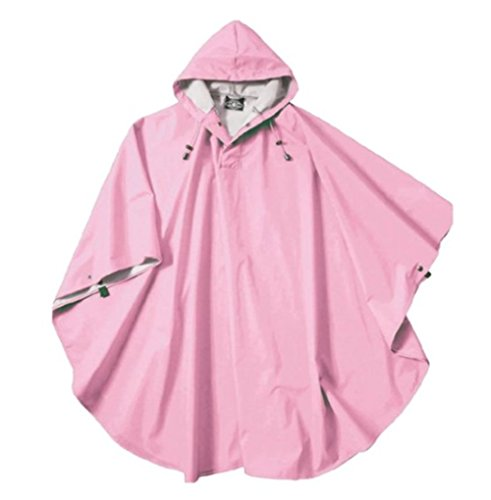 (Charles River Apparel Pacific Poncho (Peony Pink))