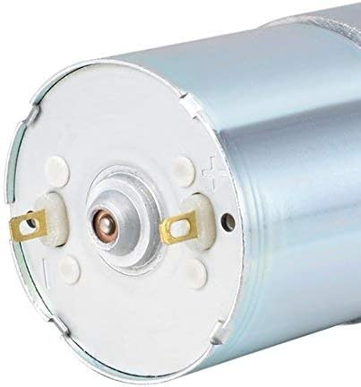 24V DC 20 RPM High torque gearmotor Electrical reduction Gearbox Eccentric output shaft