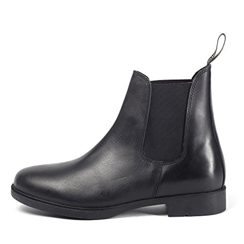 Brogini Womens/Ladies Pavia Jodhpur Boots (7 US) (Black) - Sports Jodhpur Boot