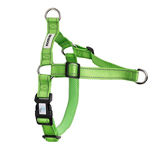 Green XX-Small Green XX-Small DEXDOG EZTrainer No Pull Front Attachment Clip Dog Harness for Training Running Comfort (XX-Small, Green)