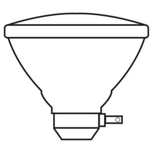 GE Lighting 80313 120-Watt 1370-Lumen PAR38 Light Bulb with Medium Side Prong Base, 12-Pack