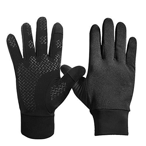 DEKINMAX Fahrradhandschuhe Winter Handschuhe für Herren und Damen Touchscreen Handschuhe Winddicht Warme Handschuhe zum Radfahren Laufen Fitness Camping Wandern Reiten Bergsteigen Sport im Freien