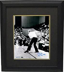 Autographed Bob Knight Picture - Bobby 11x14 Black & White ...
