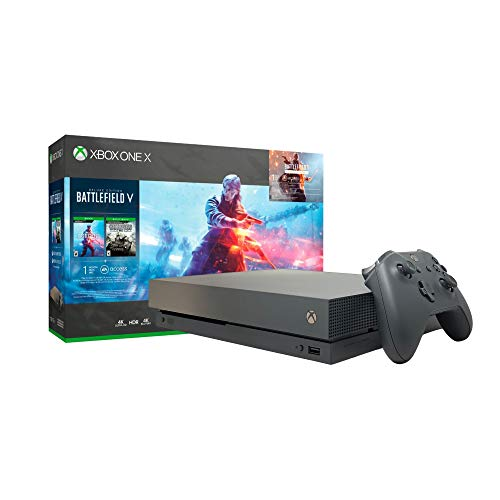 Microsoft Xbox One X 1TB Console - Battlefield V Bundle - Xbox One