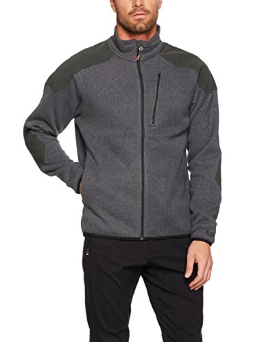 5.11 Men's Tactical Full Zip Sweater, Gun Powder, X-Large