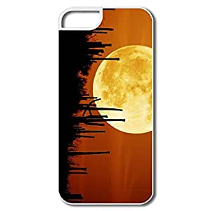 IPhone 5 5s Case Cover Rising Moon - Personalize Geek IPhone 5 5s Shell For Family