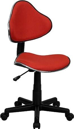 Flash Furniture BT-699-BLUE-GG Blue Fabric Ergonomic Task Chair