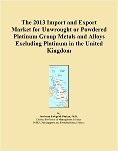 The 2013 Import and Export Market for Unwrought or Powdered Platinum Group Metals and Alloys Excluding Platinum in the United Kingdom