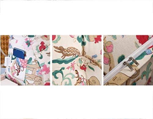 GHMOZ Coussin Double tête Coussin Triangle, Canapés Grand Dossier, Sac Souple Tatami Tête de lit Coussin de Chevet à Trois Dimensions Dossier daybed (Color : M, Size : 90x60x30cm)